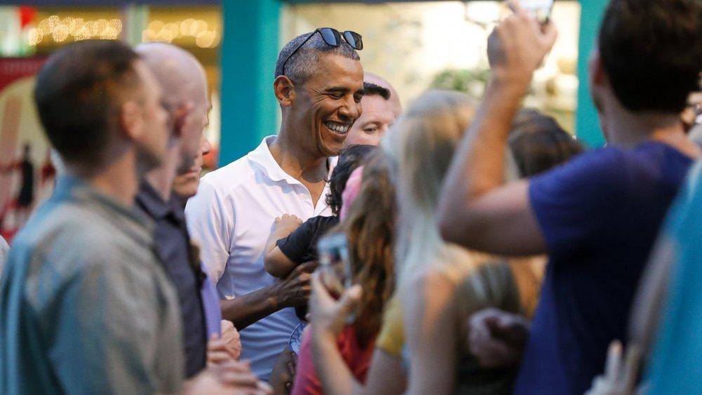 اوباما در اسکیپ روم