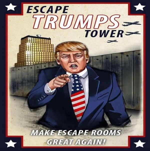 فرار از برج ترامپ