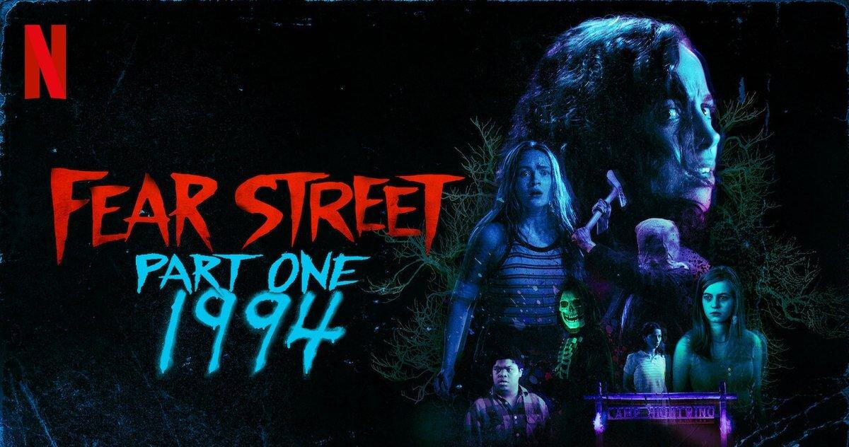پوستر فیلم خیابان وحشت شماره یک