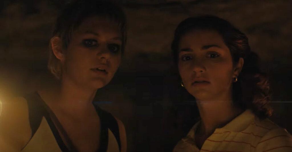 تصویری از حضور دو بازیگر زن در خیابان هراس 2